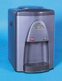 Hot & Cold Countertop Water Dispenser w/ Add-on Filter Pack & Standard Filtration