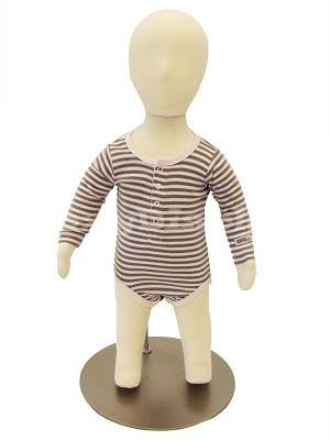 (CH06M-JF)New Child Dress Form 6 month white jersey form cover,