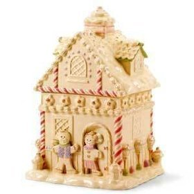 Lenox China Gingerbread House Cookie Jar