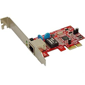 Marvell Gigabit Ethernet on Koutech Gigabit Ethernet 10 100 1000 Pci Express  X1  Card  Marvell