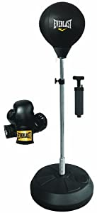 everlast free standing punching ball boxe poire sur pied sports et loisirs. Black Bedroom Furniture Sets. Home Design Ideas