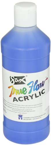 Sax True Flow Medium-Bodied Acrylic Paint - Pint - Phthalo Blue