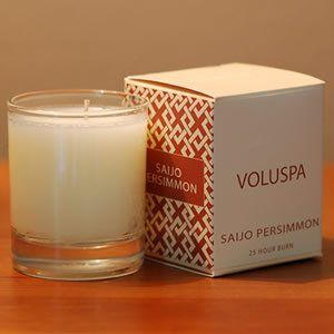 Voluspa Creme Votive Candle Casimiroa