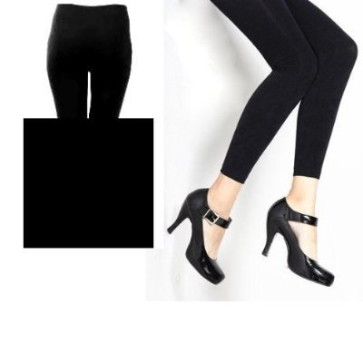 Winter Warm Seamless Thick Fleece Lined Black Leggings Tights Women Size S/M up to 5'9