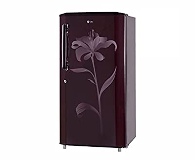 LG GL-B225BSLL Direct-cool Single-door Refrigerator (215 Ltrs, 4 Star Rating, Scarlet Lily)