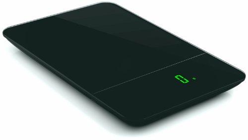 Zak Designs 88-LEDRBG LED Balance de Cuisine Électronique Rectangulaire Noir