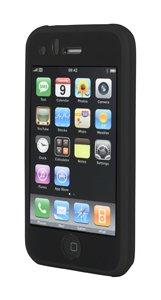 Housse silicone noire pour iPhone 3G Produit neuf. SAV France. Livraison depuis la France