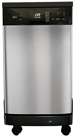 "18"" Portable Dishwasher- Stainless steel. SPT Dishwasher"