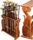 Dog Cane Stand- Genuine Rosewood