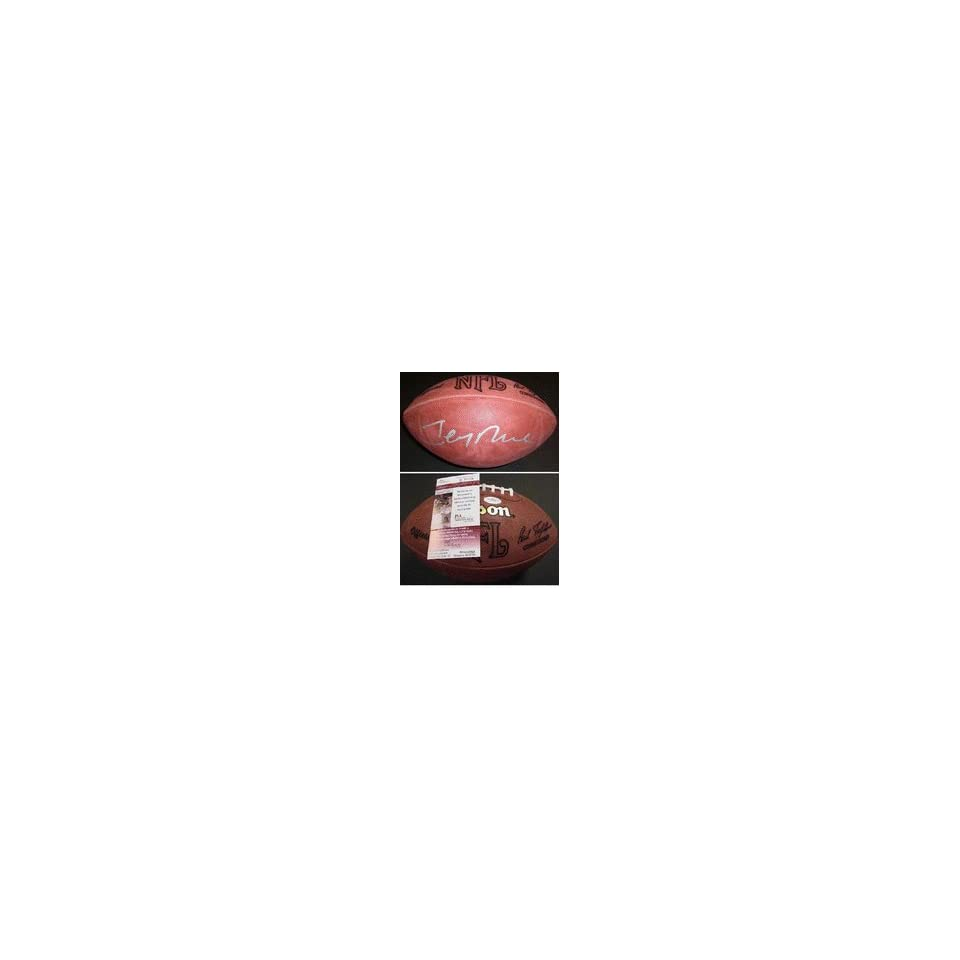 Jerry Rice Autographed NFL Game Model Football San