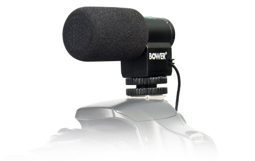 Bower Mic150 Electret Condenser Microphone (Black)