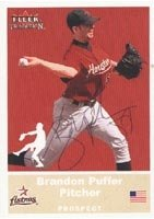 Brandon Puffer Round Rock Express - Astros Affiliate 2002 Fleer Tradition Autographed... by Hall of Fame Memorabilia