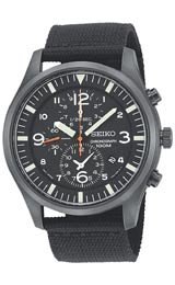 Seiko's Men's Chronograph watch #SNDA65
