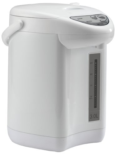 Aroma Aap-325W 3-Liter Electric Pump Air Pot, White