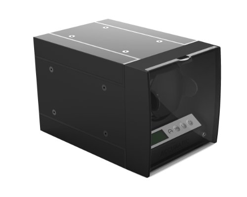 The Expandable Automatic Watch Winder w/Digital LCD Dispaly, w/Japanese Mabuchi motor (Black)