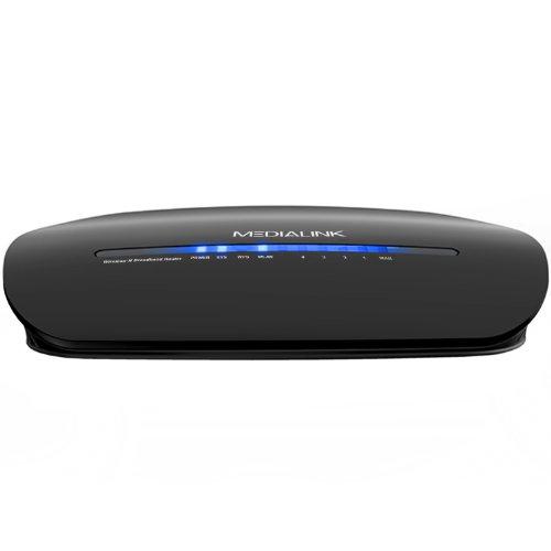 Medialink Easy Setup Wireless Router, Repeater & Range Extender (300 Mbps) Image