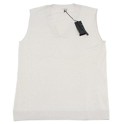 17430 gilet PAOLO PECORA maglia smanicato uomo sleeveless men [XL]