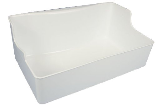 Lg Electronics 5074Jj1055A Freezer Ice Bucket, White front-595536