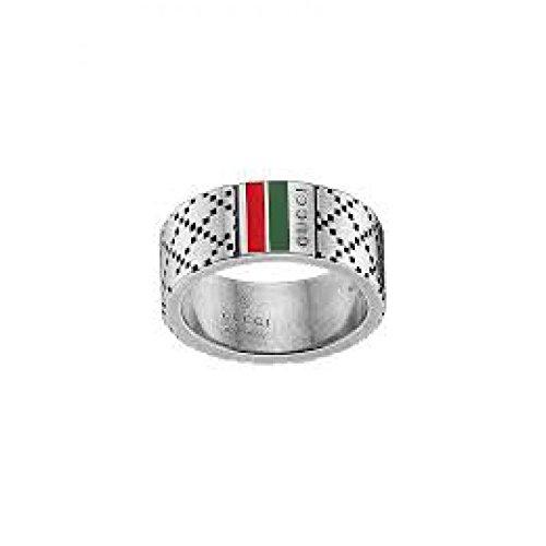 Anello Gucci MEN YBC29567500114.0_0 Argento taglia 14.0