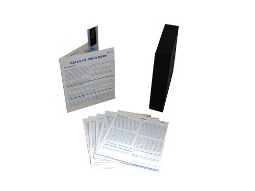 American Educational Microslide Cell Of Your Body Lesson Set (Box Of 10)