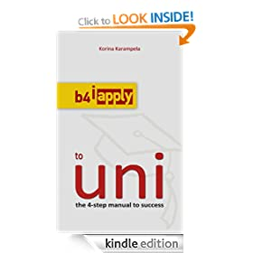 b4iapply to uni: the 4-step manual to success