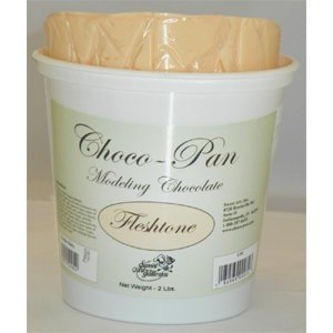 Choco-Pan Modelling Chocolate - Fleshtone - 2 lb (Modeling Chocolate compare prices)