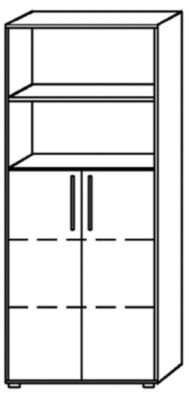 office-akktiv-NICOLA-Regalschrank-4-Fachbden-2-Fcher-offen-Buche-Dekor-Aktenschrank-Broschrank-Kombischrank-Regalschrank-Schrank-NICCO-Brombelprogramm-NICOLA-Brombelprogramm