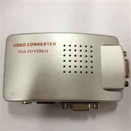 Pc Laptop To Tv Lcd Moniter Projector Vga Converter