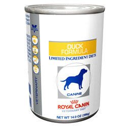 royal canin veterinary diet canine potato duck formula canned dog food 24 13 6 oz. Black Bedroom Furniture Sets. Home Design Ideas