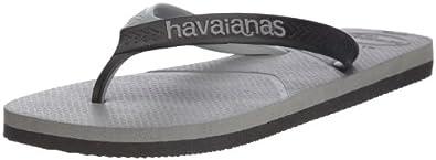 Havaianas Mens' Casual Flip Flops Grey 8 UK (EU 43/44)