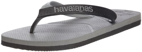 Havaianas Mens Casual Thong Sandals 4103276.0324.390 Grey 7 UK, 42 EU