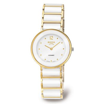 Boccia Women's Quartz Watch Ceramic 3209-02
