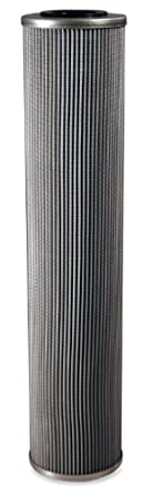 "Schroeder KKZ5 Z-Media Hydraulic Filter Cartridge, Micro-Glass, Removes Rust, Metallic Debris, Fibers, Dirt; 18"" Height, 3.9"" OD, 1.625"" ID, 3 Micron"