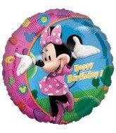 Minnie Happy Birthday-18 Inch Mylar - 1