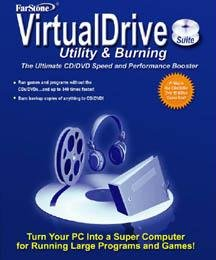FarStone Virtual Drive Utility and Burning Suite