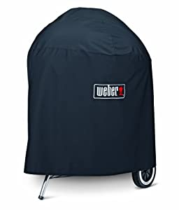 weber 7574 premium kettle cover fits 26 inch. Black Bedroom Furniture Sets. Home Design Ideas