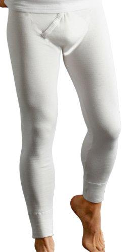 Long John Thermo-Unterhose lang Herren knöchellang anthrazit Größen 7 (XL)