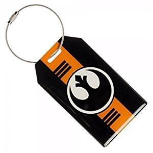 Star Wars Rogue One Rebel Alliance Logo Aluminum Luggage Tag (Rebel Alliance Star Wars)