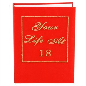 WDD 18th Birthday Photo Albums - Your Life Book