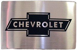 Officially Licensed Chevrolet Chevy Car Logo Belt Buckle