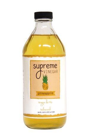 Vinegar made from pineapple peel