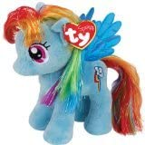 Ty UK 7-inch My Little Pony Rainbow Dash Beanie(1)