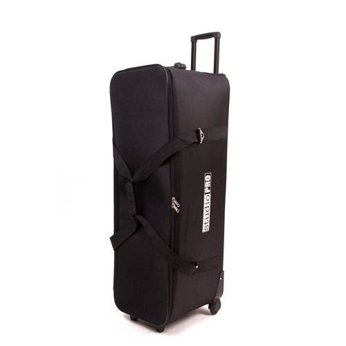 StudioPRO All in One Roller Bag for Photography Photo Studio On Location Shoots Carrying Bag for Camera and Lighting Equipment 36″x12″x12″