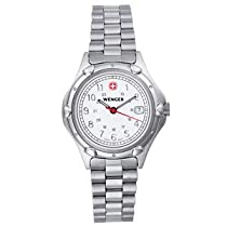 Wenger Std Iss Military Watch NA Wenger Ladies White Standard Issue Military Watch