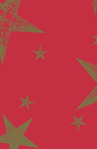Duni Tischdecke aus Dunicel 138 x 220 cm My Star Red