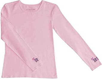 Cherokee Workwear RN Long Sleeve Tee Pink Blush, X-Small