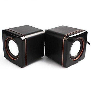 Electronic-Ddlsquare Portable Mini Usb 2.0 Speakers Desktops Laptops Computers Speakers
