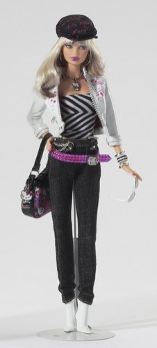 Barbie Collector 2007 Doll Pink Label - Pop Culture Collection - Hello Kitty