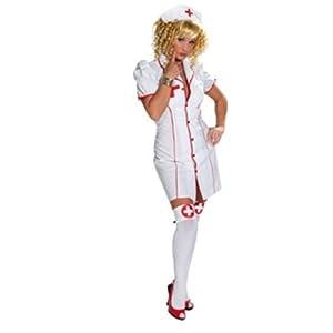 Rubies 1 3114 - Damenkostüm Sexy Schwester (Kleid mit Haube)