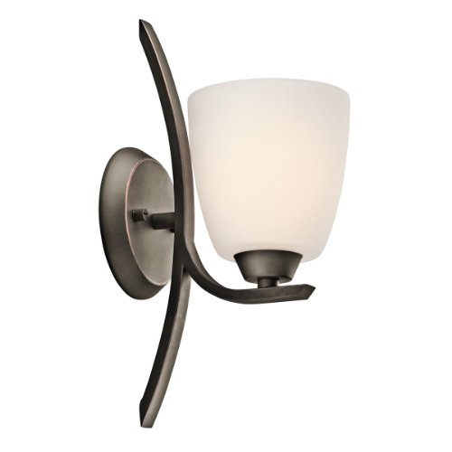 Granby 1 Light Wall Sconce Finish: Olde Bronze front-40868